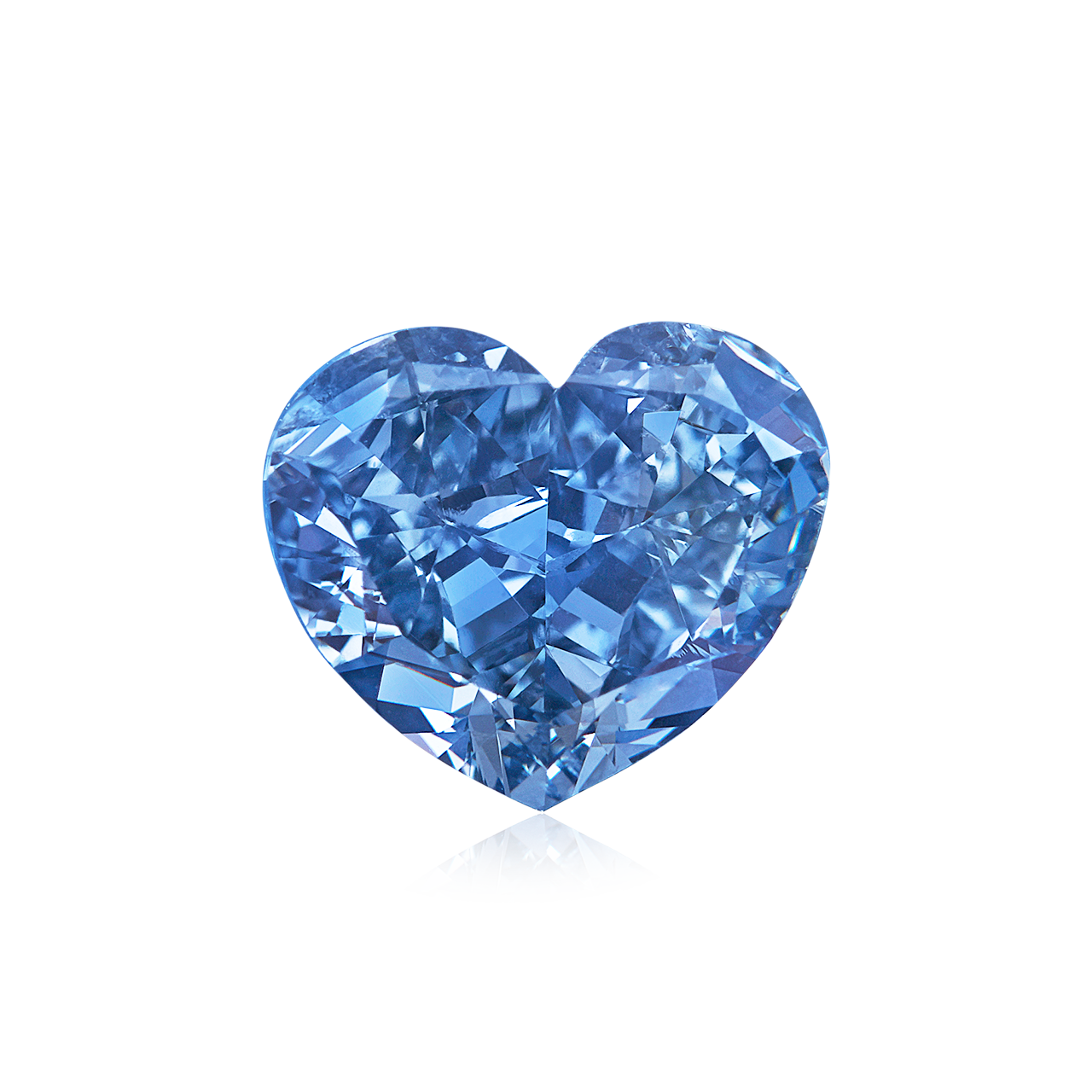 GIA 豔彩藍彩鑽裸石 1.72克拉