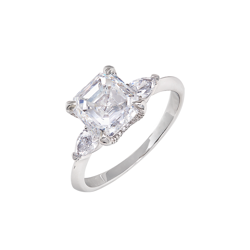 GIA 白鑽戒 3.02克拉