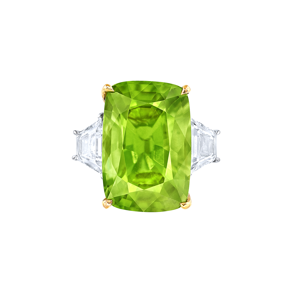 9.47克拉 橄欖石鑽戒