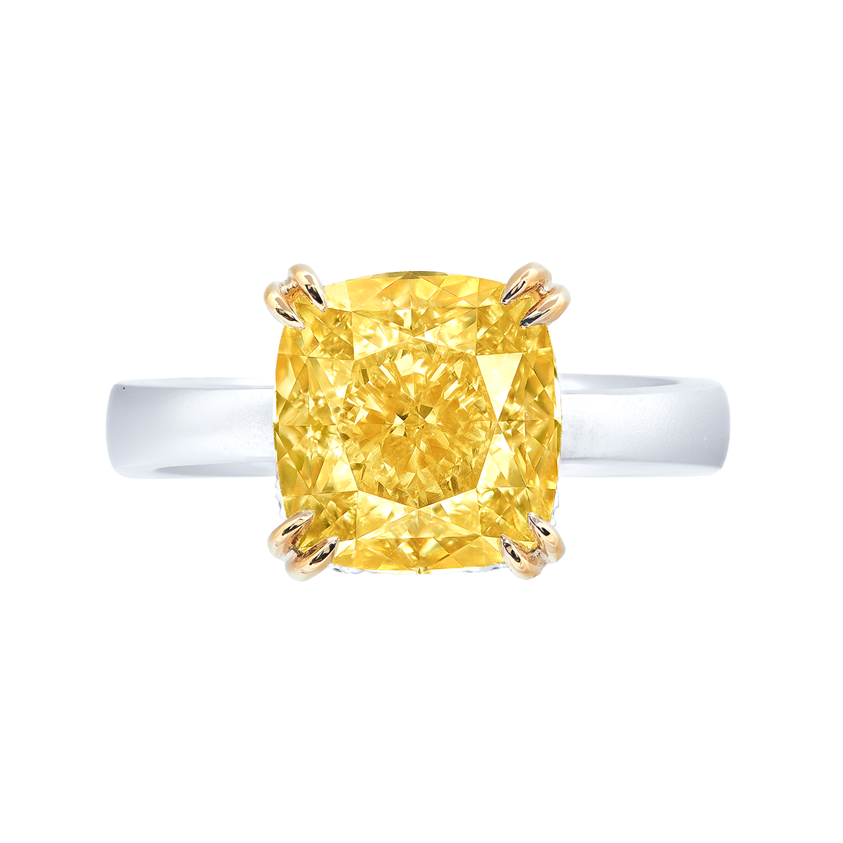 GIA 6.06克拉 黃鑽鑽戒